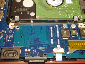 Samsung N150 Plus Second PCI Slot Location